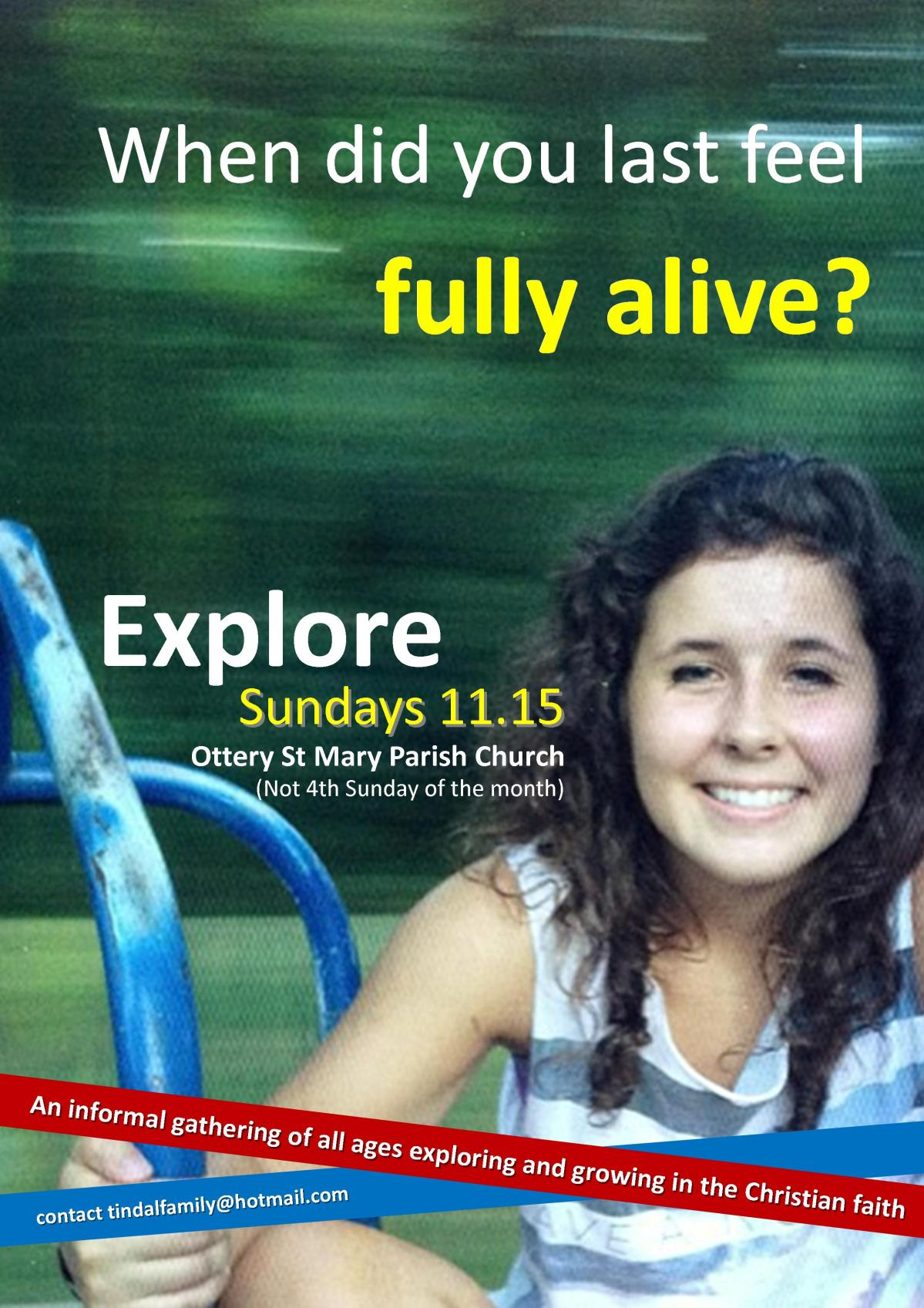 New Poster for Explore!