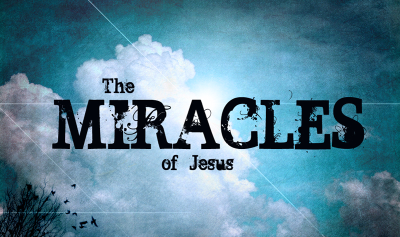 Week 13:  More Miracles of Jesus