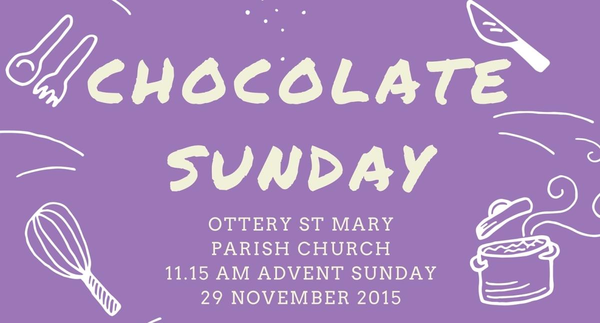 Chocolate Sunday, 29 November 2015