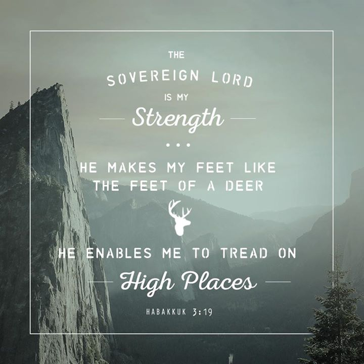 habakkuk 319 the sovereign lord is my strength � when
