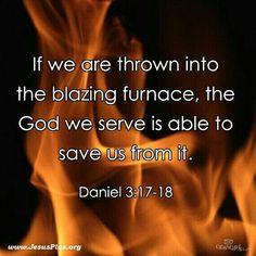 Daniel 3:  The FieryFurnace
