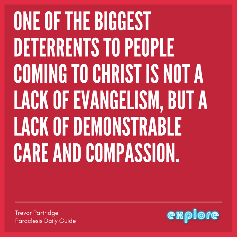 ONE OF THE BIGGEST DETERRENTS TO PEOPLE COMING TO CHRIST IS NOT A LACK OF EVANGELISM, BUT A LACK OF DEMONSTRABLE CARE AND COMPASSION..png