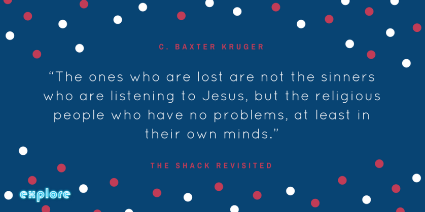 """""""The ones who are lost are not the sinners who are listening to Jesus, but the religious people who have no problems, at least in their own minds."""" (1).png"""