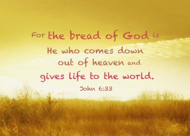 john-6-33-for-the-bread-of-god-is-he-who-comes-down-out-of-heaven-and-gives-life-to-the-world