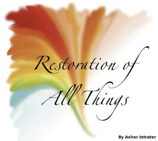 restorationofallthings